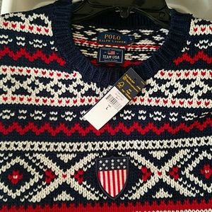 Nwt polo ralph lauren Olympic sweater